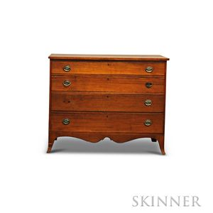 Federal Cherry Chest of Drawers