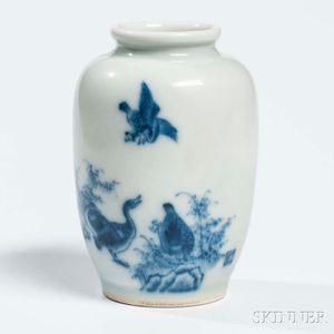 Blue and White Porcelain Jarlet