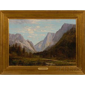 Frank Henry Shapleigh (American, 1842-1906)      Dixville Notch, New Hampshire.