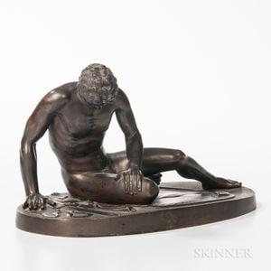 Grand Tour Bronze Figure of The Dying Gaul