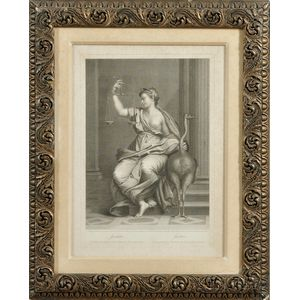 Pair of Framed 18th Century Decorative Etchings