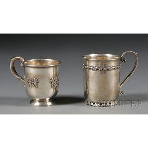 Two Sterling Mugs