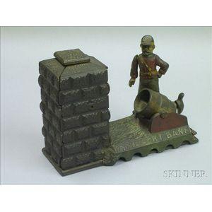 """Cast Iron """"Artillery Bank"""""""