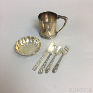 S. Kirk & Sons Sterling Silver Four-piece Child