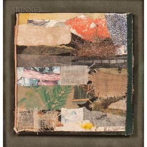 Keith Maddy (American, 20th/21st Century)      Untitled (Abstract Collage)