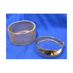 Two 14kt Gold Bracelets
