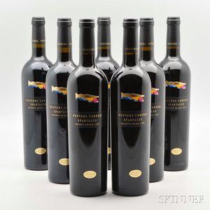 Punters Corner Spartacus Shiraz Reserve 1999, 7 bottles