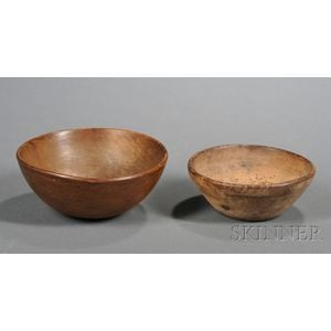 Two Small Turned Bowls