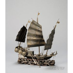 Model of a Warship