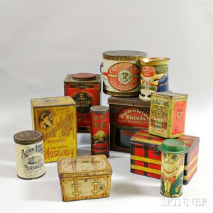 Eleven Advertising Tins