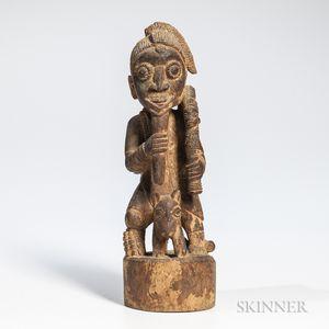 Yoruba Equestrian Figure