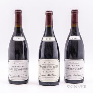 Meo Camuzet, 3 bottles