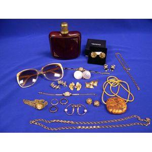 Assortment of Studio Craft Jewelry, Accessories, and Costume Jewelry