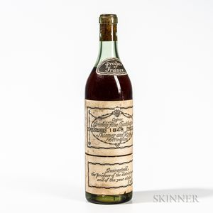 Skinner and Rook Nottingham Grande Fine Champagne 1848, 1 bottle