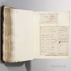 British Lawyers and Jurists, Autograph and Portrait Scrapbook.