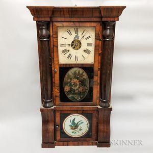 Seth Thomas Rosewood Eight-day Mantel Clock