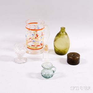 Six Pieces of Early Glass