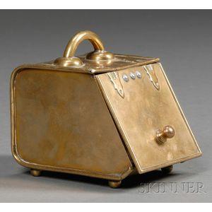 Brass Ash Bin Model