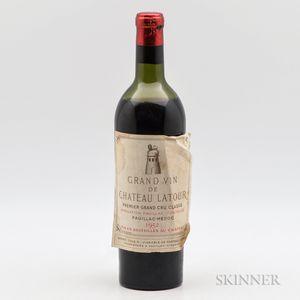 Chateau Latour 1952, 1 bottle