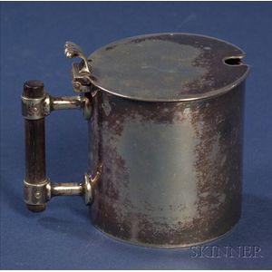 Christopher Dresser Electroplated Jam Pot