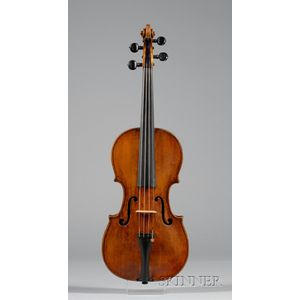 Milanese Violin, c. 1750, Probably Testore Family