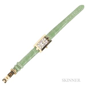 """18kt Gold """"Avenue"""" Wristwatch, Harry Winston"""