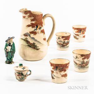Seven Ceramic Items