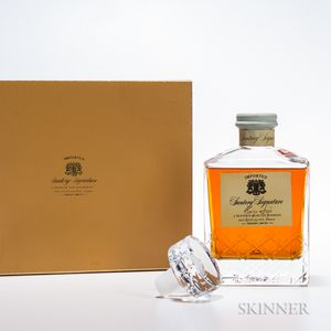 Suntory Signature, 1 750ml bottle (pc)