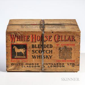 White Horse Cellar, 12 4/5 quart bottles (owc)