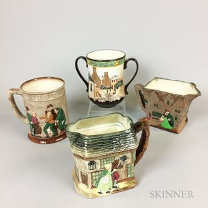 Four Royal Doulton Ceramic Vessels