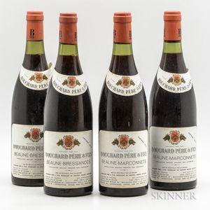 Bouchard Pere & Fils, 4 bottles