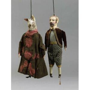 Two Continental Puppets