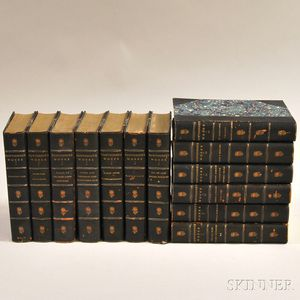 Hawthorne, Nathaniel (1804-1864) The Complete Works of Nathaniel Hawthorne, with Introductory Notes by George Parsons Lathrop and Illus