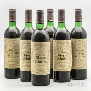 Chateau Gloria 1978, 6 bottles