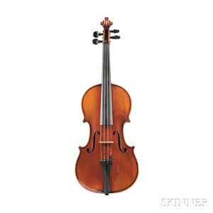 Modern German Violin, Kurt Gutter, Markneukirchen, 1925