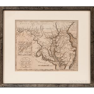 Varia, Three Maps: Russia, 1720; Maryland & Delaware, 1799; and Tibet, 1849.