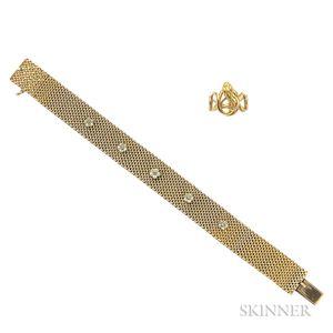 Antique 14kt Gold Bracelet