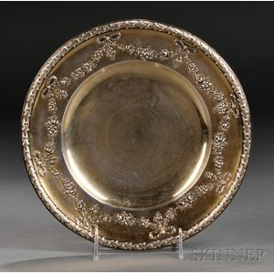 French Gold-washed .925 Silver Plate
