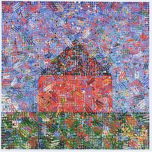 Jennifer Bartlett (American, b. 1941)  House - Dots and Dashes