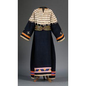 Plains Blue Trade Cloth Woman