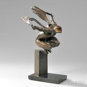 Roy Shifrin (American, b. 1937)      The Leaper