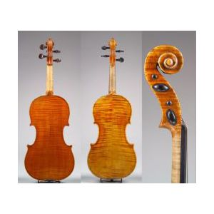 Modern Hungarian Violin, Dezso Barany, Budapest, 1905