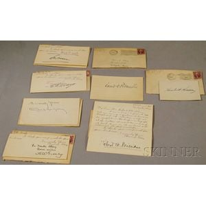 A.W. Greely, Donald MacMillan, Robert Millikan, Charles H. Mayo, Edward M. House,   Louis Brandeis, and Herbert Hoover Autographs