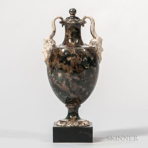 Wedgwood & Bentley Variegated Vase and Cover