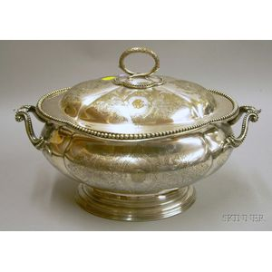 Elkington Silver Plated Tureen