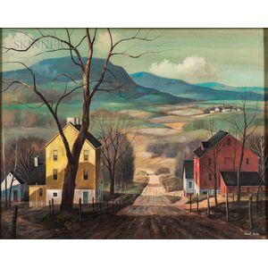 Paul F. Riba (American, 1912-1977)    Panorama