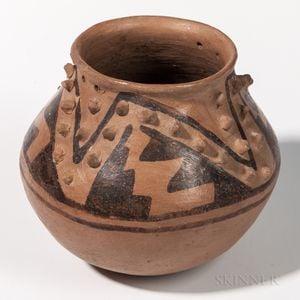 Casas Grande Polychrome Pottery Seed Jar