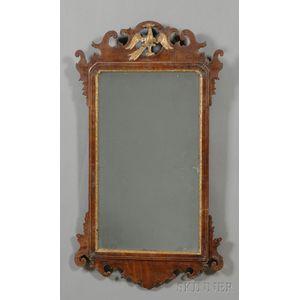 Chippendale Mahogany Gilt-gesso Mirror