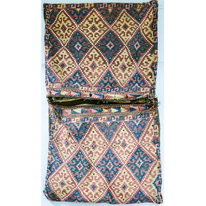 Pair of Afghan Kilim Bags