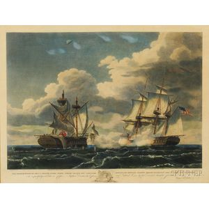 After Thomas Birch (American, 1779-1851)      ...U.S. Frigate United States...Capturing H.M.F. Macedonia...1812.